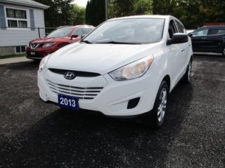 Used 2013 Hyundai Tucson POWER EQUIPPED GL MODEL 5 PASSENGER 2.4L - DOHC.. ALL-WHEEL DRIVE.. CLOTH INTERIOR.. HEATED SEATS.. AUX/USB.. BLUETOOTH CONNECTION.. for sale in Bradford, ON