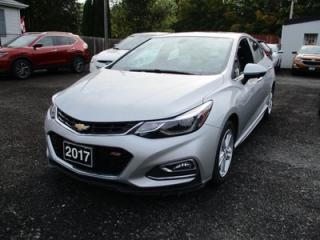 Used 2017 Chevrolet Cruze FUEL EFFICIENT LT RS MODEL 5 PASSENGER 1.4L - TURBO.. BOSE AUDIO.. BACK-UP CAMERA.. POWER SUNROOF.. for sale in Bradford, ON