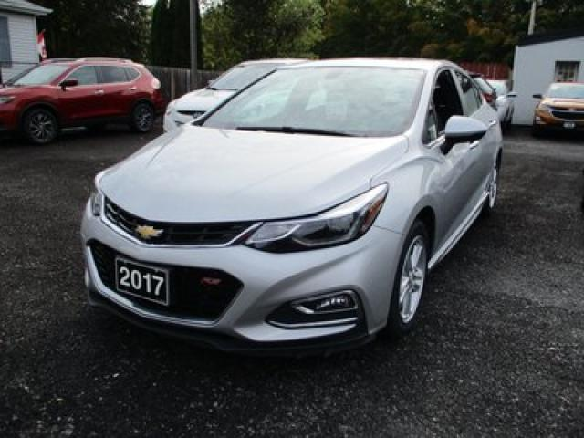 2017 Chevrolet Cruze FUEL EFFICIENT LT RS MODEL 5 PASSENGER 1.4L - TURBO.. BOSE AUDIO.. BACK-UP CAMERA.. POWER SUNROOF..