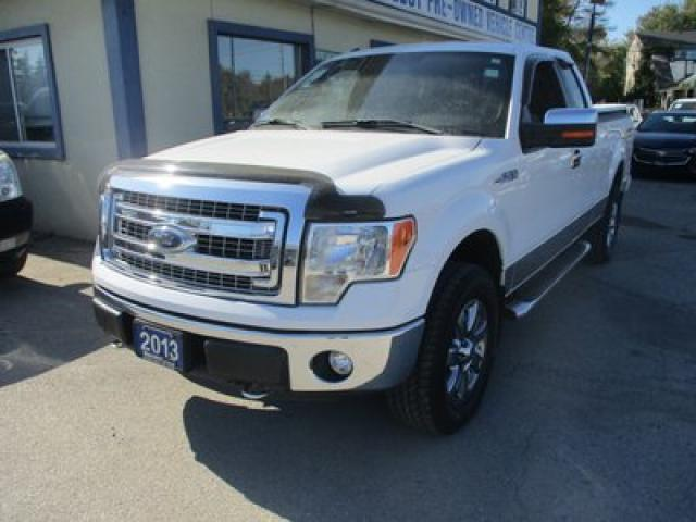 2013 Ford F-150 GREAT KMS XLT EDITION 6 PASSENGER 3.7L - V6.. 4X4.. EXTENDED-CAB.. SHORTY.. TOW SUPPORT.. SYNC TECHNOLOGY.. KEYLESS ENTRY..