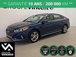 Used 2018 Hyundai Sonata SPORT ** GARANTIE 10 ANS ** Bas kilométrage! for sale in Shawinigan, QC