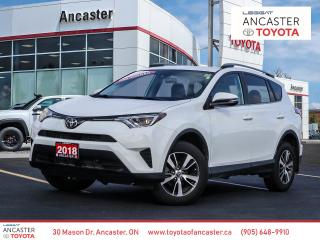 Used 2018 Toyota RAV4 LE - LANE DEPARTURE|BLUETOOTH|BACKUP CAMERA for sale in Ancaster, ON