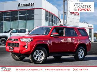 Used 2018 Toyota 4Runner SR5 - SUNROOF|LEATHER|CAMERA|LOW KMS for sale in Ancaster, ON