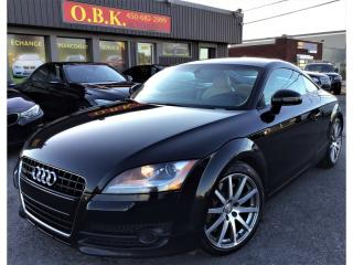 Used 2008 Audi TT 2dr Cpe-QUATTRO-V6-AUTOMATIQUE-CUIR-GR ELECTRIQUE for sale in Laval, QC
