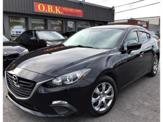 Used 2015 Mazda MAZDA3 AUTOMATIQUE-AIR CLIMATISE-BLUETOOTH-GR ELECTRIQUE for sale in Laval, QC