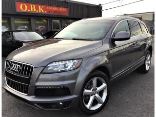 Used 2012 Audi Q7 S LINE-QUATTRO-NAVIGATION-TOIT PANO-CAM RECUL-7 PA for sale in Laval, QC