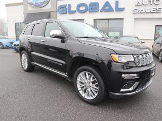 Used 2018 Jeep Grand Cherokee Summit 4WD 5.7 L HEMI. ALL OPTIONS. for sale in Ottawa, ON
