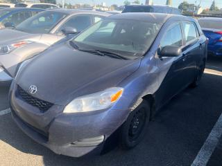 Used 2014 Toyota Matrix **5 VIT./AIR/VITRES** for sale in St-Eustache, QC