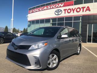 Used 2018 Toyota Sienna 7 Passagers for sale in St-Eustache, QC