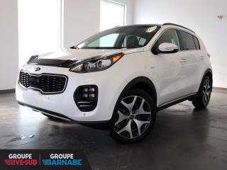 Used 2018 Kia Sportage SX Turbo AWD+TOIT-PANO+GPS+CUIR+++ for sale in St-Jean-Sur-Richelieu, QC