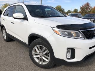 Used 2015 Kia Sorento LX Premium AWD with Heated Front and Rear Leather! BackupCam, AutoStart, Bluetooth, Pwr Seat, Cruise, Pwr Windo for sale in Kemptville, ON