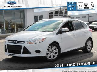 Used 2014 Ford Focus SE**BLUETOOTH*CRUISE*A/C** for sale in Victoriaville, QC