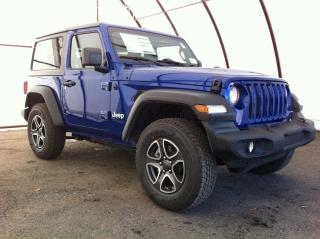 New 2020 Jeep Wrangler Sport SPORT 'S' 4X4 for sale in Ottawa, ON