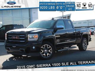 Used 2015 GMC Sierra 1500 SLE*ALL TERRAIN**CAMERA*BLUETOOTH*CRUISE*A/C** for sale in Victoriaville, QC