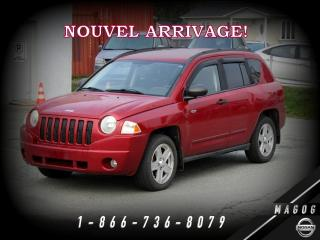 Used 2009 Jeep Compass NORTH EDITION + FWD + CLIMATISEUR! for sale in Magog, QC