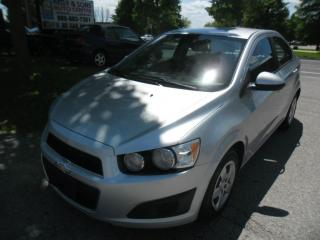 Used 2012 Chevrolet Sonic LS