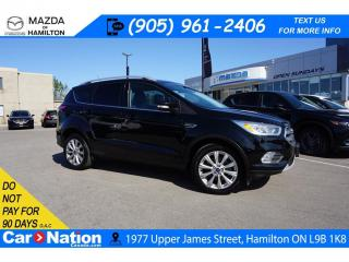Used 2017 Ford Escape Titanium TITANIUM | LEATHER | PANO ROOF | NAV | 4WD for sale in Hamilton, ON