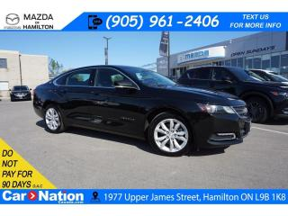 Used 2018 Chevrolet Impala 1LT LT | LEATHER | REAR CAM | XM RADIO for sale in Hamilton, ON