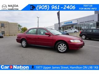 Used 2002 Honda Accord SE | AS-TRADED | SUNROOF | ALLOYS for sale in Hamilton, ON
