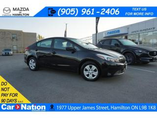 Used 2018 Kia Forte LX | BLUETOOTH | XM RADIO | AUX INPUT for sale in Hamilton, ON