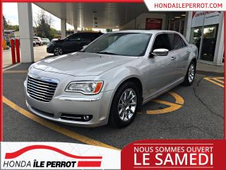 Used 2012 Chrysler 300 TOIT PANORAMIQUE , 8 PNEUS , CUIR, BAS K for sale in Île-Perrot, QC