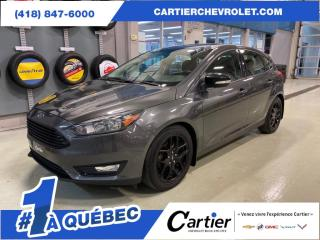 Used 2016 Ford Focus SE HATCHBACK * VOLANT CHAUFFANT for sale in Québec, QC