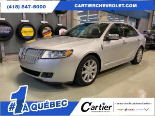 Used 2011 Lincoln MKZ FWD * HYBRID * NAV * CUIR * TOIT for sale in Québec, QC