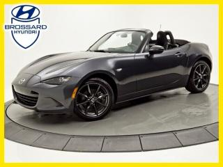 Used 2016 Mazda Miata MX-5 GS, NAV, BLUETOOTH for sale in Brossard, QC