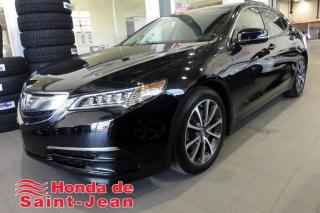 Used 2016 Acura TLX V6 SH-AWD Cuir Toit Camera for sale in St-Jean-Sur-Richelieu, QC