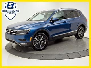 Used 2018 Volkswagen Tiguan HIGHLINE, NAV, TOIT PANO, ANGLES MORTS for sale in Brossard, QC