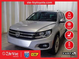 Used 2017 Volkswagen Tiguan Comfortline Cuir, Toit panoramique for sale in Québec, QC