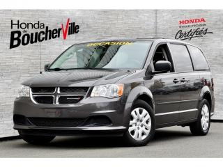 Used 2015 Dodge Grand Caravan SXT 7 Passagers, jamais accidenté for sale in Boucherville, QC
