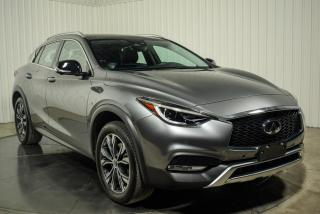 Used 2017 Infiniti QX30 AWD TOIT PANO NAV CUIR  CAMERA 360 for sale in St-Hubert, QC