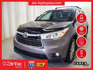 Used 2016 Toyota Highlander XLE AWD Roue en alliage, for sale in Québec, QC