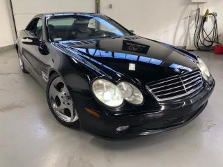 Used 2004 Mercedes-Benz SL-Class 5L V8 Coupe+Convertible! for sale in North York, ON