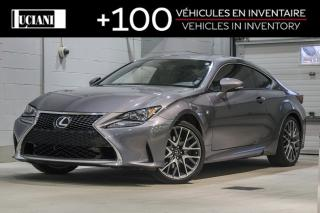 Used 2016 Lexus RC RC COUPE 300!! CAMERA, TOIT, AWD !! for sale in Montréal, QC