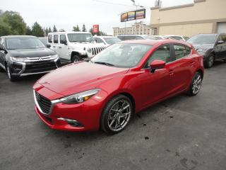 Used 2018 Mazda MAZDA3 Sport GT Cuir Toit Navi Heads Up Bose for sale in Laval, QC
