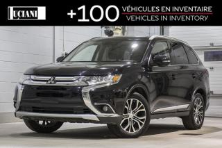 Used 2016 Mitsubishi Outlander AWC GT!! CUIR , GPS , 7 PASSENGER !! for sale in Montréal, QC
