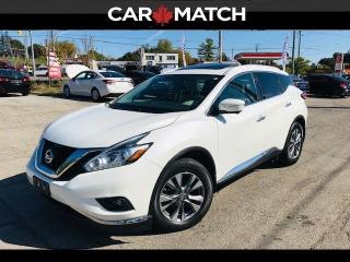 Used 2015 Nissan Murano SL / NAV / ROOF / NO ACCIDENTS for sale in Cambridge, ON