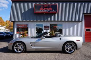 Used 2005 Chevrolet Corvette CONVERTIBLE AUTOMATIQUE V-8 6.0L LS2 88 519 KM !! for sale in Lévis, QC