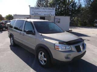 Used 2007 Pontiac Montana SV6 for sale in Elmvale, ON