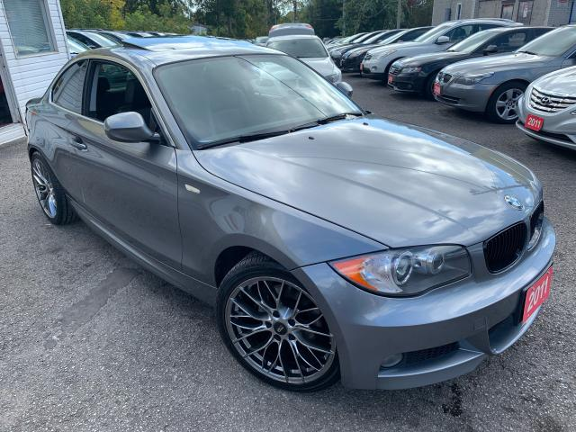 2011 BMW 1 Series 28i/ AUTO/ LEATHER/ SUNROOF/ UPGRADED ALLOYS+MORE!