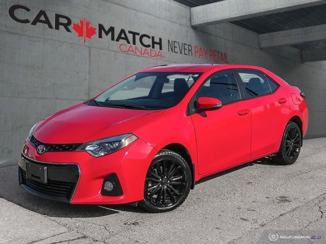 2015 Toyota Corolla S / *AUTO* / NO ACCIDENTS