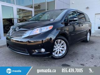 Used 2014 Toyota Sienna XLE LIMITED AWD DVD LEATHER ROOF NAV for sale in Edmonton, AB