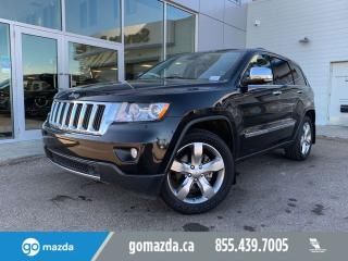 Used 2013 Jeep Grand Cherokee LIMITED FULL OPTIONS DVD/LTHR/ROOF/NAV for sale in Edmonton, AB