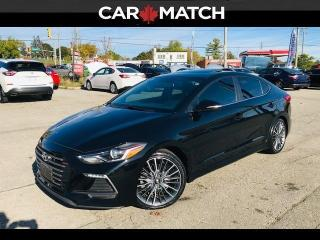 Used 2017 Hyundai Elantra SPORT / LEATHER / ROOF / for sale in Cambridge, ON