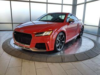 Used 2018 Audi TT RS Coupe for sale in Edmonton, AB