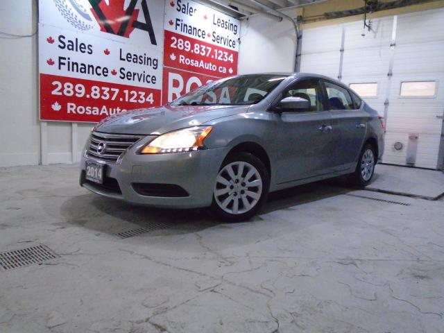 2014 Nissan Sentra 4 DR GAS SAVER 4NEW TIRES PW PL PM A/C SAFETY