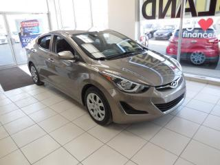 Used 2015 Hyundai Elantra GL MANUELLE TRACTION AVANT A/C CRUISE BT for sale in Dorval, QC