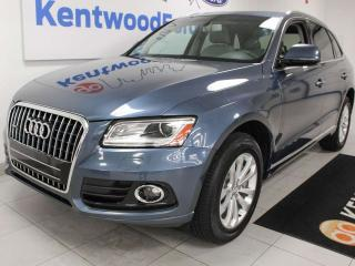Used 2016 Audi Q5 3.0T Progressiv TFSI Quattro AWD with NAV, sunroof, heated power leather seats, power liftgate for sale in Edmonton, AB